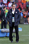 18 JUN 2010: U.S. press officer Michael Kammarman. The Slovenia National Team played the United States National Team to a 2-2 at Ellis Park Stadium in Johannesburg, South Africa in a 2010 FIFA World Cup Group C match.