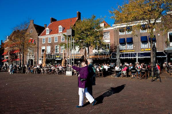middelburg holland pubs on the markt square in 11 10 2010 tourist info
