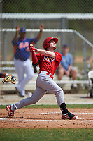 St. Louis Cardinals Casey Turgeon (5) bats during a Minor League Spring Training game against the New York Mets on March 31, 2016 at Roger Dean Sports Complex in Jupiter, Florida.  (Mike Janes/Four Seam Images)