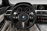 Car pictures of steering wheel view of a 2019 BMW 6-Series-Gran-Coupe 640i-xDrive-M-Sport-Edition-AWD 4 Door Sedan Steering Wheel