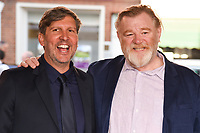 director, Joel Hopkins and Brendan Gleeson<br /> at the &quot;Hampstead&quot; premiere, Everyman Hampstead cinema, London. <br /> <br /> <br /> &copy;Ash Knotek  D3280  14/06/2017