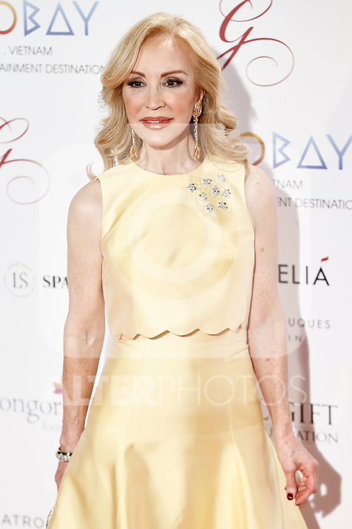 Carmen Lomana attends the photocall of the second Global Gift gala at the Royal Theater in Madrid, Spain. April 04, 2017. (ALTERPHOTOS / Rodrigo Jimenez)