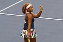 Naomi Osaka (JPN), September 21, 2016 - Tennis : Naomi Osaka of Japan reacts during the second round of WTA Toray PPO tennis at Ariake colosseum Tokyo Japan on 21 Sep 2016. (Photo by Motoo Naka/AFLO)