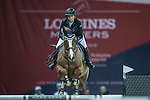 Jane Richards Philips of Switzerland riding on Zekina Z competes during the EEM Trophy, part of the Longines Masters of Hong Kong on 10 February 2017 at the Asia World Expo in Hong Kong, China. Photo by Juan Serrano / Power Sport Images