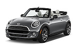 2016 MINI Cooper - 2 Door Convertible Angular Front stock photos of front three quarter view