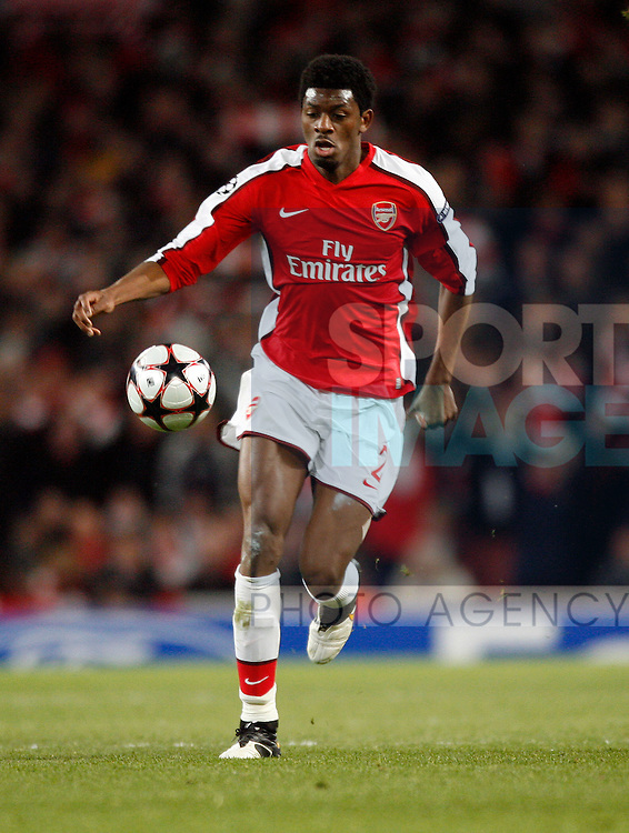 Arsenal's Abou Diaby in action