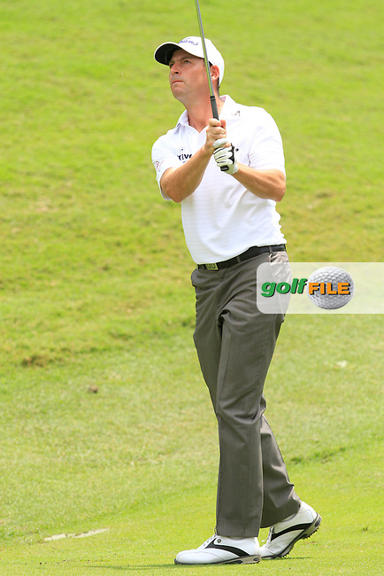 David Howell (ENG) on the 10th fairway during Round 2 of the Maybank Malaysian Open at the Kuala Lumpur Golf &amp; Country Club on Friday 6th February 2015.<br /> Picture:  Thos Caffrey / www.golffile.ie