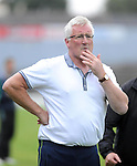13-08-2014 : Pat Spillane, manager of the Kenmare District  team, watching the  Kerry U-21 football Championship final at Fitzgerald Stadium, Killarney,  on Wednesday night. Picture: Eamonn Keogh (MacMonagle, Killarney)