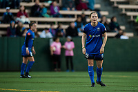 Seattle, Washington -  Saturday April 22, 2017: Kristen McNabb during a regular season National Women's Soccer League (NWSL) match between the Seattle Reign FC and the Houston Dash at Memorial Stadium.