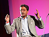 Lalit Modi speaking at a Q &amp; A at the London Indian Film Festival 2015, BFI, Southbank, London, Great Britain <br />