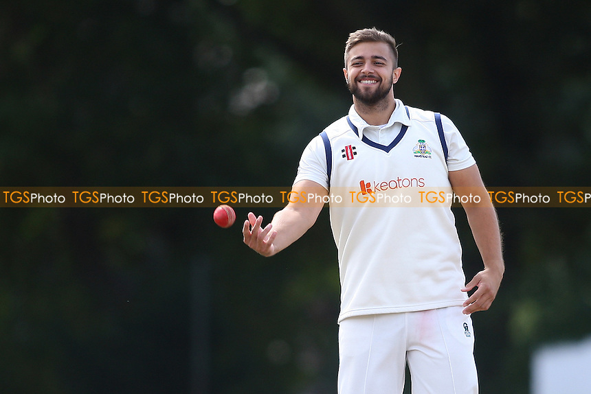 Hassan Chowdhury of Wanstead during Wanstead and Snaresbrook CC vs Colchester and East Essex CC, Shepherd Neame Essex League Cricket at Overton Drive on 1st September 2016