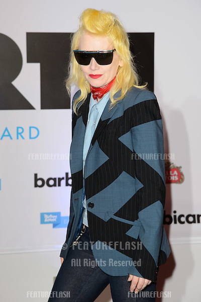 "Pam Hogg arriving for the ""20,000 Days on Earth"" Gala Screening at the Barbican Centre, London. 17/09/2014 Picture by: Steve Vas / Featureflash"