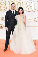 Channing Tatum &amp; wife Jenna Dewan at the world premiere for &quot;Kingsman: The Golden Circle&quot; at the Odeon and Cineworld Leicester Square, London, UK. <br /> 18 September  2017<br /> Picture: Steve Vas/Featureflash/SilverHub 0208 004 5359 sales@silverhubmedia.com