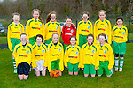 The Killarney Celtic  team who played Killarney Athletic on Saturday front row l-r: Kerry Ann Hanrahan, Emer Cronin, Holly Kennelly, Aine Devlin, Jessica Leahy, katelyn Kelly. Back row: Katie O'Connor, Holly Power, Katie Brosnan, Saoirse Dorran, Ava O'Doherty, Maeve Bellew and Zara Burke