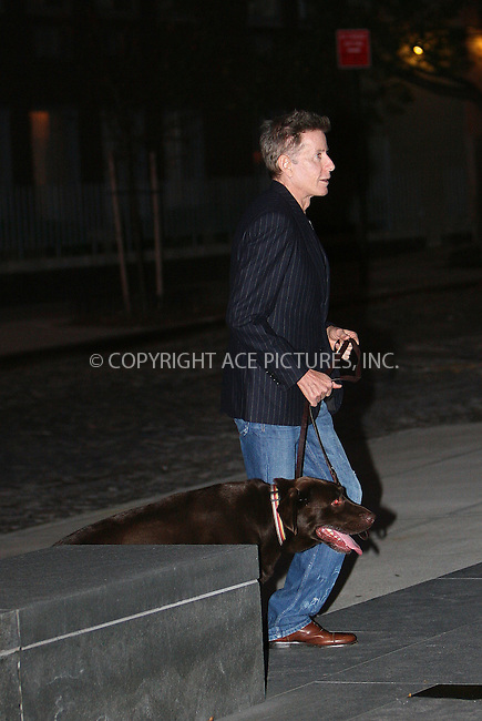 WWW.ACEPIXS.COM . . . . .  ....Exclusive - all rounder....November 15 2009, New York City....Designer Calvin Klein and his dog spotted out in Soho on November 15 2009 in New York City....Please byline: NANCY RIVERA- ACE PICTURES.... *** ***..Ace Pictures, Inc:  ..tel: (212) 243 8787 or (646) 769 0430..e-mail: info@acepixs.com..web: http://www.acepixs.com