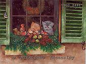GIORDANO, CHRISTMAS ANIMALS, WEIHNACHTEN TIERE, NAVIDAD ANIMALES, paintings+++++,USGI2461,#XA#