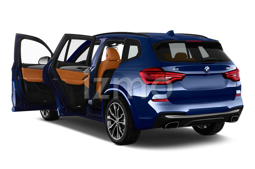 Car images close up view of a 2018 BMW X3 base 5 Door SUV doors