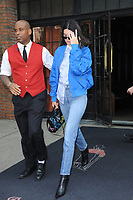 www.acepixs.com<br /> September 11, 2017 New York City<br /> <br /> Kendall Jenner seen in New York City on September 11, 2017.<br /> <br /> Credit: Kristin Callahan/ACE Pictures<br /> <br /> Tel: 646 769 0430<br /> Email: info@acepixs.com