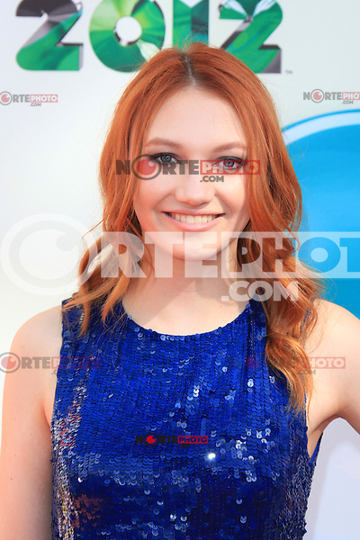 Jacqueline Emerson at Nickelodeon's 25th Annual Kids' Choice Awards at The Galen Center on March 31, 2012 in Los Angeles, California. &copy; mpi26/MediaPunch Inc. /NortePhoto<br />