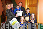 The Flynn family from Cordal who took part in the annual Biddy night held last weekend to raise funds for Cordal Coiste na nOg, pictured l-r: Maura(Child Protection Officer), Paddy, Pierce, Florence(Chairperson), Katie, Jack and Lisa..