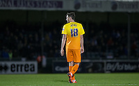 Danny Rowe of Wycombe Wanderers during the Sky Bet League 2 rearranged match between Bristol Rovers and Wycombe Wanderers at the Memorial Stadium, Bristol, England on 1 December 2015. Photo by Andy Rowland.