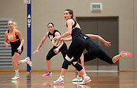 12.12.2018 Silver Ferns Karin Burger training in Auckland. Mandatory Photo Credit ©Michael Bradley.