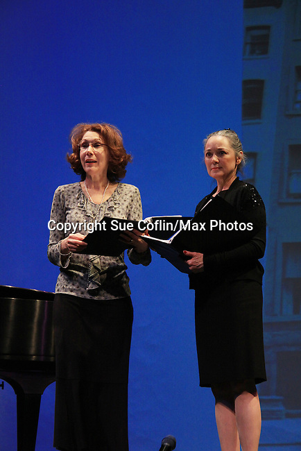 """Randy Graff & Young and Restless Victoria Mallory """"Leslie Brooks"""" star in """"Good Girls Only - the Rehearsal Club Musical"""" - on March 13, 2013 at the Professional Children's School, New York City, New York. (Photo by Sue Coflin/Max Photos)  917-647-8403"""