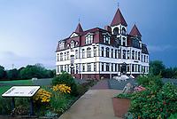 Old Town Lunenburg, a UNESCO World Heritage Site, NS, Nova Scotia, Canada - Lunenburg Academy (built 1894 to 1895)