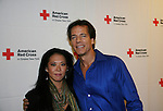 Bradley Cole & wife Yasuko at the 5th Annual Rock show for charity to benefit the American Red Cross on October 9, 2009 at the American Red Cross Headquarters, New York City, New York. (Photos by Sue Coflin/Max Photos)