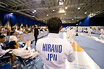 Yoshiki Hirano (JPN),<br /> AUGUST 11, 2013 - Fencing :<br /> World Fencing Championships Budapest 2013, Men's Team Epee Round of 32 at Syma Hall in Budapest, Hungary. (Photo by Enrico Calderoni/AFLO SPORT) [0391]