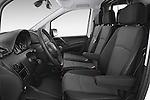 Front seat view of a 2013 Mercedes Benz Vito 113CDi SWB Long 4 Door Cargo Van 2WD Front Seat car photos