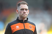 Blackpool's Harry Pritchard during the pre-match warm-up <br /> <br /> Photographer Kevin Barnes/CameraSport<br /> <br /> The EFL Sky Bet League One - Blackpool v Southend United - Saturday 9th March 2019 - Bloomfield Road - Blackpool<br /> <br /> World Copyright © 2019 CameraSport. All rights reserved. 43 Linden Ave. Countesthorpe. Leicester. England. LE8 5PG - Tel: +44 (0) 116 277 4147 - admin@camerasport.com - www.camerasport.com