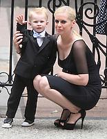 June 30, 2012 Guest attend the Alec Baldwin and Hilaria Thomas Wedding Day at Basilica of St. Patrick's Old Cathedral in Little Italy in New York City.Credit:© RW/MediaPunch Inc. /*NORTEPHOTO.COM*<br /> *SOLO*VENTA*EN*MEXiCO* *CREDITO*OBLIGATORIO** *No*Venta*A*Terceros* *No*Sale*So*third* ***No Se*Permite*Hacer*Archivo** *No*Sale*So*third*©Imagenes con derechos de autor,©todos reservados. El uso de las imagenes está sujeta de pago a nortephoto.com El uso no autorizado de esta imagen en cualquier materia está sujeta a una pena de tasa de 2 veces a la normal. Para más información: nortephoto@gmail.com* nortephoto.com.