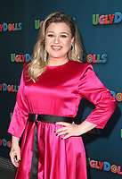 LOS ANGELES, CA - APRIL 13: Kelly Clarkson at the photo call for Ugly Dolls at The Four Seasons in Los Angeles, California on April 13, 2019. <br /> CAP/MPI/FS<br /> &copy;FS/MPI/Capital Pictures