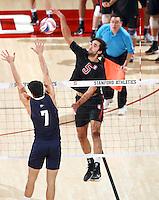 STANFORD, CA; January 27, 2017; Men's Volleyball, Stanford vs California Baptist.