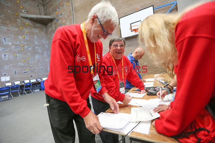 IPC European Athletics Championship 2014<br /> Volunteers<br /> Swansea University<br /> 23.08.14<br /> ©Steve Pope-SPORTINGWALES