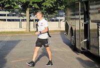 Sebastian Rode (Eintracht Frankfurt) - 22.08.2019: Racing Straßburg vs. Eintracht Frankfurt, UEFA Europa League, Qualifikation, Commerzbank Arena<br /> DISCLAIMER: DFL regulations prohibit any use of photographs as image sequences and/or quasi-video.