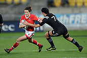 9th June 2017, Westpac Stadium, Wellington, New Zealand; International Womens Rugby; New Zealand versus Canada;  Canada player Elissa Alarie in action