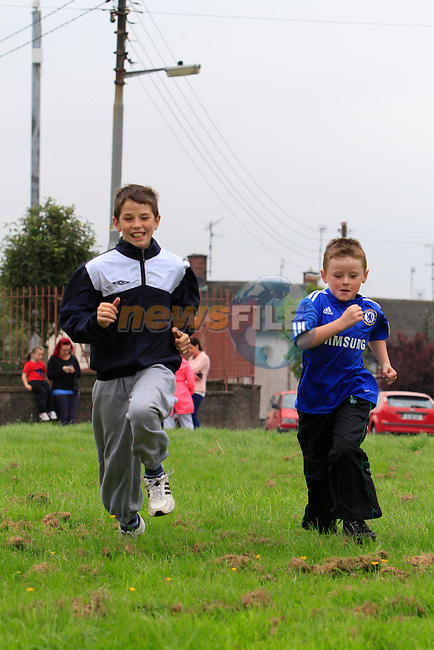 Byron Murphy Alan Campbell.at the yellow batter sports day..Picture: Fran Caffrey / www.newsfile.ie