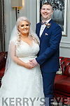 Cunningham/Griffin wedding in the Ballyroe Heights Hotel on Saturday October the 19th.