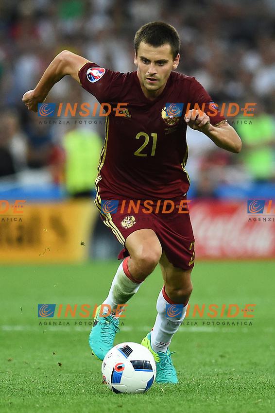Georgi Schennikov Russia<br /> Marseille 11-06-2016 Stade Velodrome Footballl Euro2016 England - Russia  / Inghilterra - Russia Group Stage Group B. Foto Massimo Insabato / Insidefoto