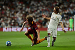 Real Madrid's Luka Modric and AS Roma's Nicolo Zaniolo during Champions League match. September 19, 2018. (ALTERPHOTOS/A. Perez Meca)