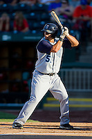 Adam Bailey (51) of the Corpus Christi Hooks at bat during a game against the Springfield Cardinals at Hammons Field on August 13, 2011 in Springfield, Missouri. Springfield defeated Corpus Christi 8-7. (David Welker / Four Seam Images)