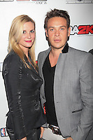 NEW YORK, NY - SEPTEMBER 26: Bonnie Somerville and Kevin Alejandro in attendance as JAY Z hosts the premiere of 2K Sports' NBA2K13 at his very own 40/40 nightclub in New York City and enjoying a performance by Meek Mill. 40/40 Club in New York City. September 26, 2012. © Diego Corredor/MediaPunch Inc. /NortePhoto.com