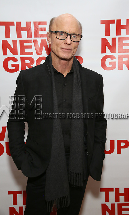 """Ed Harris attends The New Group presents the New York Premiere Opening Night of David Rabe's for """"Good for Otto"""" on March 8, 2018 at the Green Fig Urban Eatery,  in New York City."""