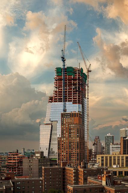 Hudson Yards Rising<br /> New York City