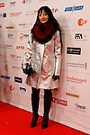Director MARIA DE MEDEIROS poses for the media as she arrives at 23rd European Film Awards
