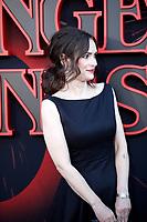 "LOS ANGELES - JUN 28:  Winona Ryder at the ""Stranger Things"" Season 3 World Premiere at the Santa Monica High School on June 28, 2019 in Santa Monica, CA"