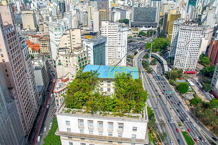 Prédio da Prefeitura Municipal da cidade de São Paulo, instalada no Edifício Matarazzo, São Paulo - SP, 08/2016.