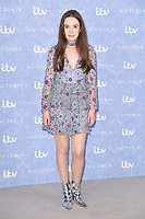 Tilly Steele at the photocall for season two of &quot;Victoria&quot; at Ham Yard Hotel, London, UK. <br /> 24 August  2017<br /> Picture: Steve Vas/Featureflash/SilverHub 0208 004 5359 sales@silverhubmedia.com